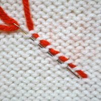 Weaving in ends for specific stitches
