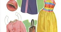 Fabulous 60s fashion - from That Girl paper dolls