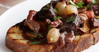 Get this all-star, easy-to-follow Beef Bourguignon recipe from Ina Garten