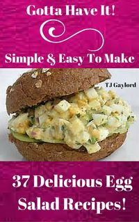 Egg salad is part of a tradition of salads involving protein mixed with seasonings in the form of herbs, spices, and other foods, and bound with mayonnaise. Get these all-star, easy-to-follow 37 Delicious Egg Salad Recipes Today.Scrumptious salad recipe...