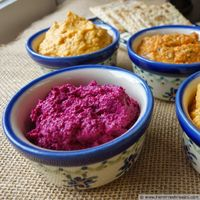Orange-Spiked Beet and Walnut Spread