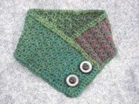 Cute free crochet patterns. Carots, bees, hearts and this neck warmer.