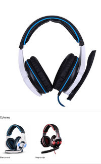 SA-903 Computer Game Headset Wearing Ear Protection 7.1 Channel Usb Computer Headset Red