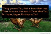 Today you are You quote