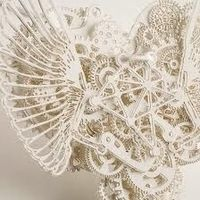 Mechanical paper sculpture - I can't imagine how many hours, weeks, months went into this piece. Fantastically imaginative.