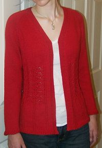 Ravelry: Really Fits Top Down Cardigan For All Seasons pattern by Kathy Cairns Hendershott