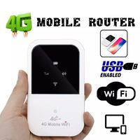 FDD A800 Portable 4G Mobile Wireless Router Internet Card Carry-on Auto WiFi Wireless Router
