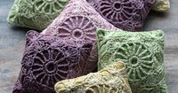 no patterns, but good pictures and cute ideas for crochet and linen sachets, needle books, pincushions, etc.
