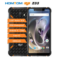 HOMTOM ZOJI Z33 Global Bands IP68 5.85 Inch HD+ 4600mAh Android 8.1 3GB 32GB MT6739 Quad Core 4G Smartphone