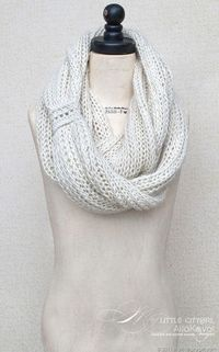 Meringue cowl for kids and adults *Free Pattern.