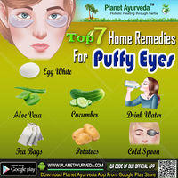 Top 7 Home Remedies for Puffy Eyes