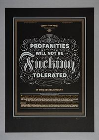 Limited Edition Screen print by Paul Nolan, via Behance