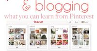 excellent post on how to use Pinterest with your blog by Nesting Place