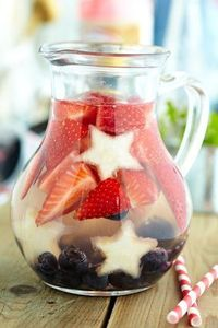 Celebrate patriotic holidays with an All-American red, white, and blue cocktail. Includes four fabulous recipes.