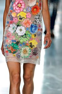 Read Hamish Bowles's review of Christopher Kane Spring 2012 collection.