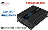 Here at Soundtech, we sell a range of high-quality Crunch GTO2125 DSP. Specifications: 2 x 75/125 Watts RMS @ 4/2 Ohms, 2 x 150/250 Watts max. @ 4/2 Ohms.