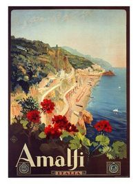 travel posters, italy travel and travel guide.