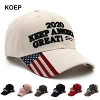 Donald Trump 2020 Cap Camouflage USA Flag Baseball Caps KEEP America Great Snapback President Hat Embroidery $1999.00