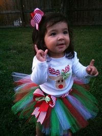 Christmas tutu... Oh please lord let me have a daughter someday