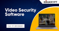 Edukrypt has developed a number of best video security software which prevents your important lecture or tutorial video. Video Security Software uses latest advanced AES 256 bits and apply multiple security standards. Know More Call: +91-885-128-6001 or v...