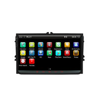 YH-809 9 Inch 2 DIN for Android 9.0 8 Core 4+32G Car Stereo Radio Player GPS Touch Screen 4G bluetooth FM AM RDS Radio for VW Skoda