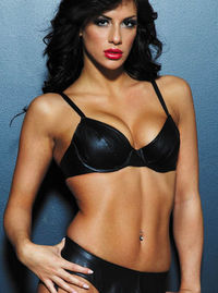 17500 Underwire Leather Bra This leather bra is sexy and sophisticated. High quality leather with underwire, adjustable shoulder straps and back, and back closure. http://www.comparestoreprices.co.uk/bras/17500-underwire-leather-bra.asp