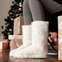 Sherpa Slipper Boots! What could be more comfortable?!?!?