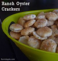 Five Star Grab and Go Superbowl Snack: Ranch Oyster Crackers #superbowl #snack #cracker