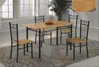 ining rooms are one of the best rooms in the home and the steel dining table make it looks very cool and lovely, you may be trending to which the best one for your dining room furniture so we collect the best steel dining table ideas