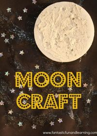 Moon Craft: Create craters and make a night sky scene