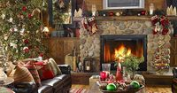 Let these beautiful mantel arrangements turn your fireplace into an eye-catching focal point for the holidays.