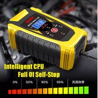 12/24V 6/3A Repair LCD Display Battery Charger For Motorcycle Boat Car Electric Bicycle Bike Scooters