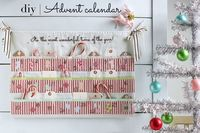 The most wonderful time of the year is coming fast, and there's nothing quite like holiday crafting. Having your own DIY Advent calendar is such a fun tradition