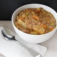 Slow Cooker Ground Beef Stew - Allrecipes.com
