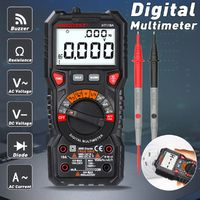 HABOTEST NCV Handheld Digital Multimeter LCD Backlight Portable AC/DC Ammeter Voltmeter Ohm Voltage Tester Meter Multimeters