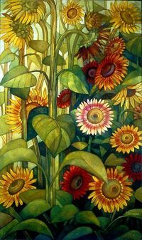 sunflowers.