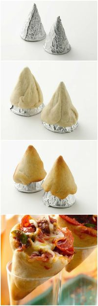 #Pizza Cones #pillsbury