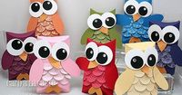Owl gift boxes - adorable!
