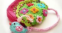 Crochet bag / Birdie purse by VendulkaM