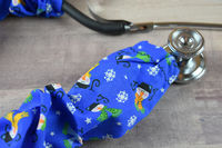 Stethoscope Cover Christmas Holiday | Snowman stethoscope Cord cover | Nurse Gift Doctor Gift | Stethoscope Sock | Stethoscope Accessories $10.99