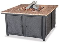 LP GAS OUTDOOR FIREBOWL WITH GRANITE MANTEL GAD1200B $599.99