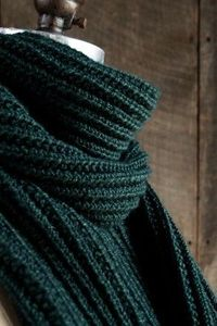 Mistake Rib Scarf in Mulberry Merino | The Purl Bee