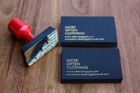 DIY business cards - lots of great ideas!