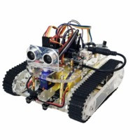 SN4600 R4 DIY Smart Robot Tank Chassis Kits with Crawler