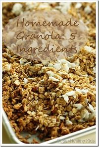 Homemade Granola: thispostshould take you to the recipe. Other ones just take you to the website and then you search for it.