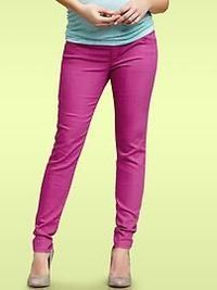 Pink Skinny Maternity Jeans. I just hit my last 3 months...these are killer!