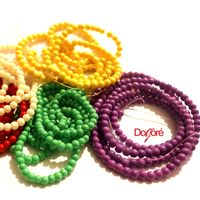 Pack of 200 Round Glass Seed Beads. 4mm Spacers For Jewellery Making. Different Colours Available £6.99