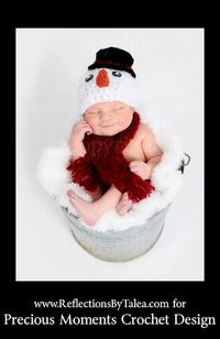 Hey, I found this really awesome Etsy listing /christmas-baby-hat-snowman-hat-and-scarf..