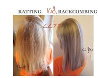 correct way to backcomb. It's amazing how many girls don't know how to do this!!! The bigger the hair the closer to God!