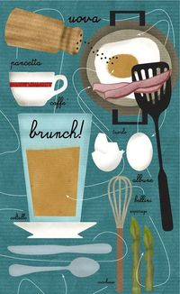 restaurants, behance and brunches.